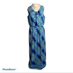 Luxology Sleeveless Maxi Dress